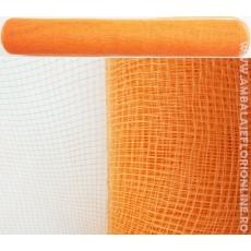 Plasa Plastic Simpla Portocaliu