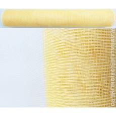 Plasa Plastic Crem cu Auriu