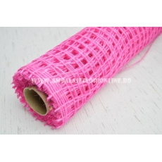 Plasa iuta roz