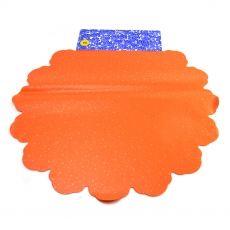 Celofan Rotund 60CM Buline portocaliu