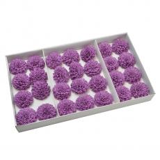 Set 28buc dalie bonesta de sapun parfumata atingere reala liliac 37-4