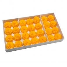 Set 28buc dalie bonesta de sapun parfumata atingere reala orange 37-3