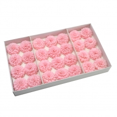 Set 28buc dalie bonesta de sapun parfumata atingere reala roz 37-2