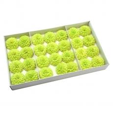 Set 28buc dalie bonesta de sapun parfumata atingere reala verde 37-5
