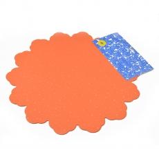 Celofan Rotund 40CM buline portocaliu