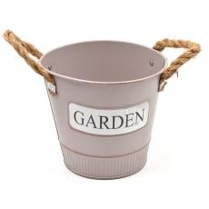 Ghiveci tabla Garden maro