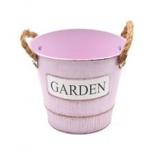 Ghiveci tabla Garden roz
