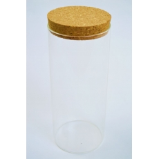 Cilindru Sticla  20cm x 8cm