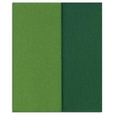 Hartie creponata Gloria Doublette verdes-verde muschi, cod 3340