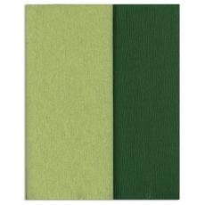 Hartie creponata Gloria Doublette verdes lamaie-verde muschi, cod 3341