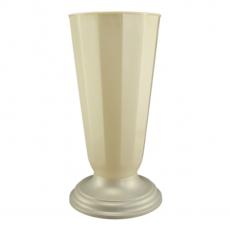 Vaza podea 23x49 cm alb perlat