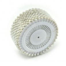 Ace mici 4mm alb perlat