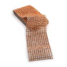 Rola strasuri flexibila 6cm x 1.8m, frez